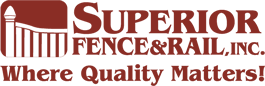 Superior fence & rail logo